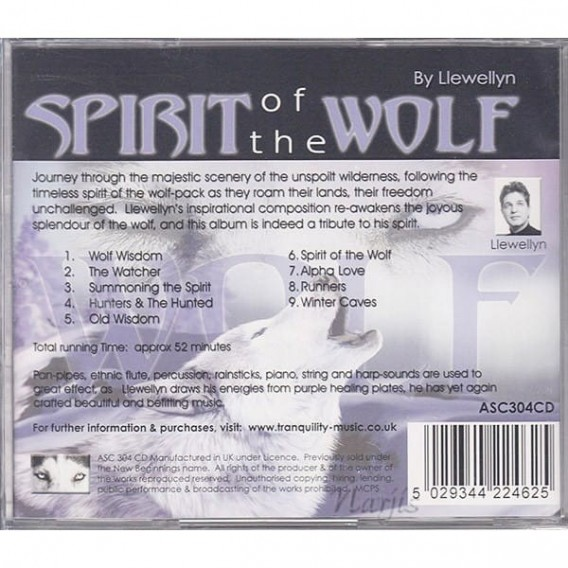Grossiste CD Ambiance et Relaxation Spirit Of the Wolf pour les Pros