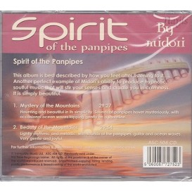 Grossiste en CD Ambiance et Relaxation Spirit of the Panpipes pour les Pros