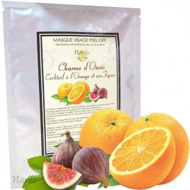 Masque Visage Charme d'Oasis aux Figues et Orange